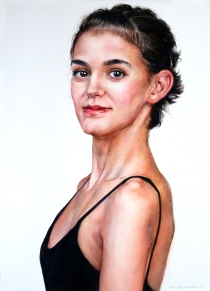 "Ann Balch Canada Last Dance, First Dance 29.5x21.5"""