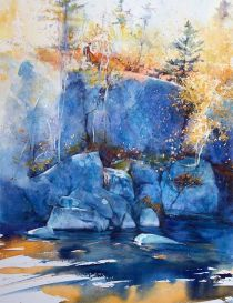 """Third Place National: Gail Sutherland Canada Tumble 10x14"""""""