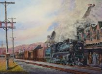 "Roy Tibbits Canada Local 2622 at McAdam Station 20x29"""
