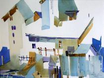 "Merv Richardson Canada Elora Mill 10.5x14.5"""