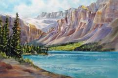 """Nancy Newman Canada Along the Icefield Parkway, Alberta, Canada 15x22"""""""