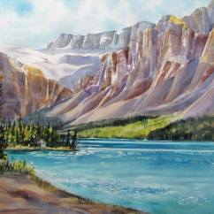 Nancy Newman Canada Along the Icefield Parkway, Alberta, Canada 15x22""