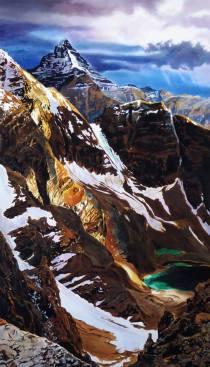 "Jennifer Annesley Canada Ascent 42x24"""
