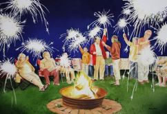 Shelley Prior Canada The Great Canadian Celebration 41.5x28.5 cm