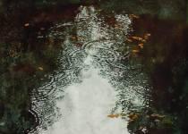 "Michael Zarowsky Canada (the beginning of) RAIN 23x35"""