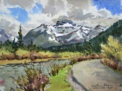"William Rogers Canada Emerald Lake Drive 11x16"""