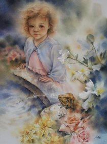 National Youth Winner: Iris Lee Canada Blossoming Dreams 77x57 cm