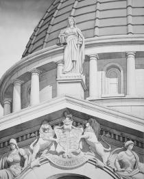 Donald Leung Hong Kong A Commonwealth Architectural Gem - Former Hong Kong Supreme Court x Sir Aston Webb 54x42 cm
