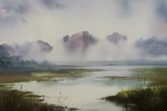 Natalia Chaban Russia Lake of Ioannina 56x38 cm