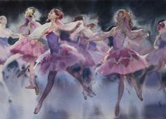 Honourable Mention: Anna Ivanova Russia Flowers 40x56 cm