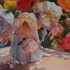 Svetlana Orienko New Zealand Bouquet of Roses 52x72 cm