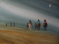 Gloria Baker USA The Trail 20x29""