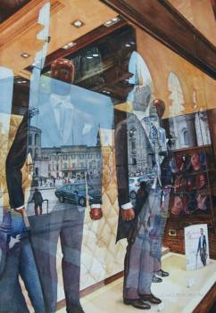 Honourable Mention: David L. Stickel USA Room with a View - Duomo of Milan 54x38 cm