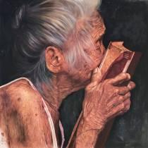 Honourable Mention: Galuh Tajimalela Indonesia My Everlasting Book 175x175 cm