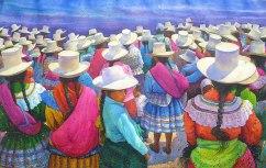 Aquiles Rondan Peru Fiestadel Color 126x80 cm