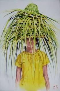 Aung Lin Tun Myanmar Beauty of Light (2) 56x38 cm