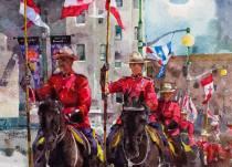 Yuechen Feng China Canada Day 54x39 cm