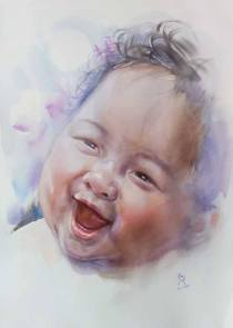 Honourable Mention: Sutee Kaenyuk Thailand Happy Baby 56x76 cm