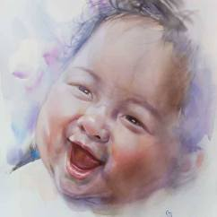 Honourable Mention: Sutee Kaenyuk Thailand Happy Baby 56x76 cm