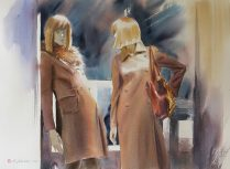 Konstantin Sterkhov Russia Window Shopping II 55x75 cm