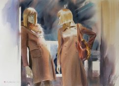 Konstantin Sterkhov Russia Window Shopping II 55x75 cm