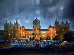 "Honourable Mention: Suresh Dhondiba Bhosale India Golden Mumbai 30x43"""