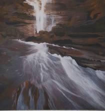 Ashna Agarwal India (Youth) Landscape 28x28 cm