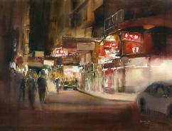 Rainbow Tse Hong Kong (Youth) Night Wonders 56x76 cm