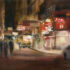 Rainbow Tse Hong Kong (Youth) Night Wonders 56x76 cm