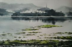 "Rajib Ahasen Bangladesh (Youth) Monsoon 15x22"""