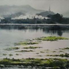 Rajib Ahasen Bangladesh (Youth) Monsoon 15x22""