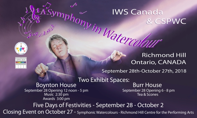 Summary of 'A Symphony in Watercolour' Exhibition