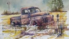 "Maggie Grace - Canada. Rust Sleeps. 11x15""."