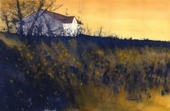 "Zan Barrage - Canada. Evening Call. 22x15""."