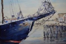 "Alice Bottrill - Canada. Bluenose II. 15x22"""