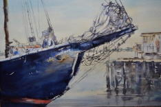 Alice Bottrill - Canada. Bluenose II. 15x22""