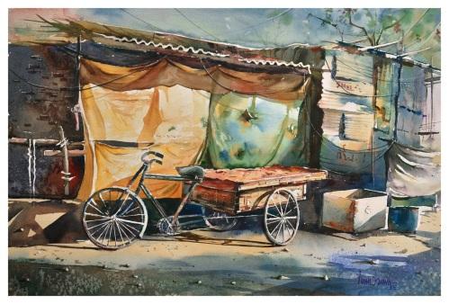 Anish Kumar Hard work India