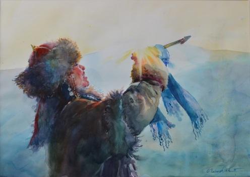 BATORSHIKH PUREVDORJ MONGOLIA MONGOLIAN MOTHER
