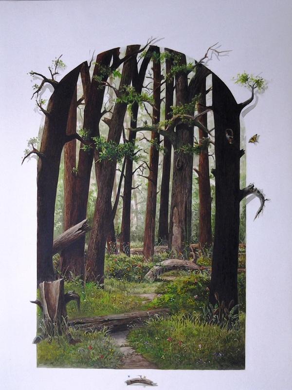 Claudio Ruanova de la Torre Mexico Goblin and trees