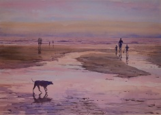 Francis Marrouch Spain Atardecer en la playa