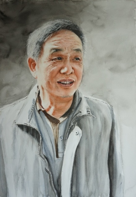 Hoi Yan Kwok China Uncle with a smile