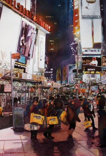 Laurie Goldstein-Warren. United States of America. Young Eyes - Times Square