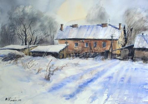 Misha Kuznetsov Russian Federation Winter in the Backyard