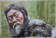 NAIMANCHULUUN TUNDEVNYAM MONGOLIA ARMOR BEARER