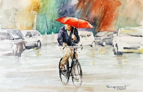 Pier Luigi Orlandi Italia Summer rain