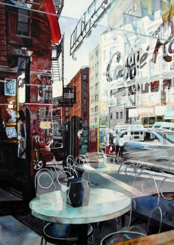 Robin Erickson USA Caffe Reflection