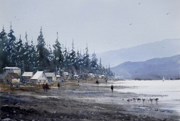 sandhu Singh Canada Low Tide, West Coast, BC